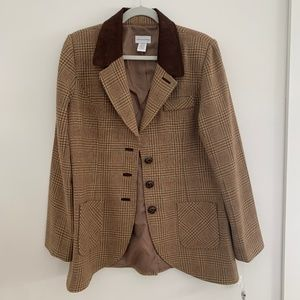 Soft Surroundings Tweed Blazer